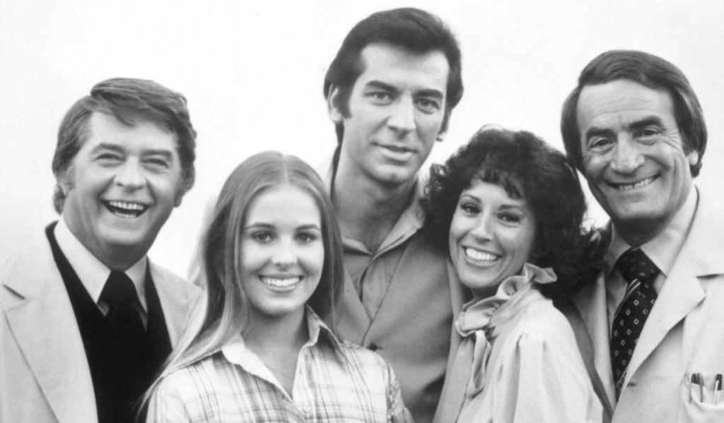 GENERAL HOSPITAL, Craig Heubing, Genie Ann Francis, Mike Gregory, Denise Alexander, John Beradino, (1978), 1963-, ©ABC/courtesy Everett Collection
