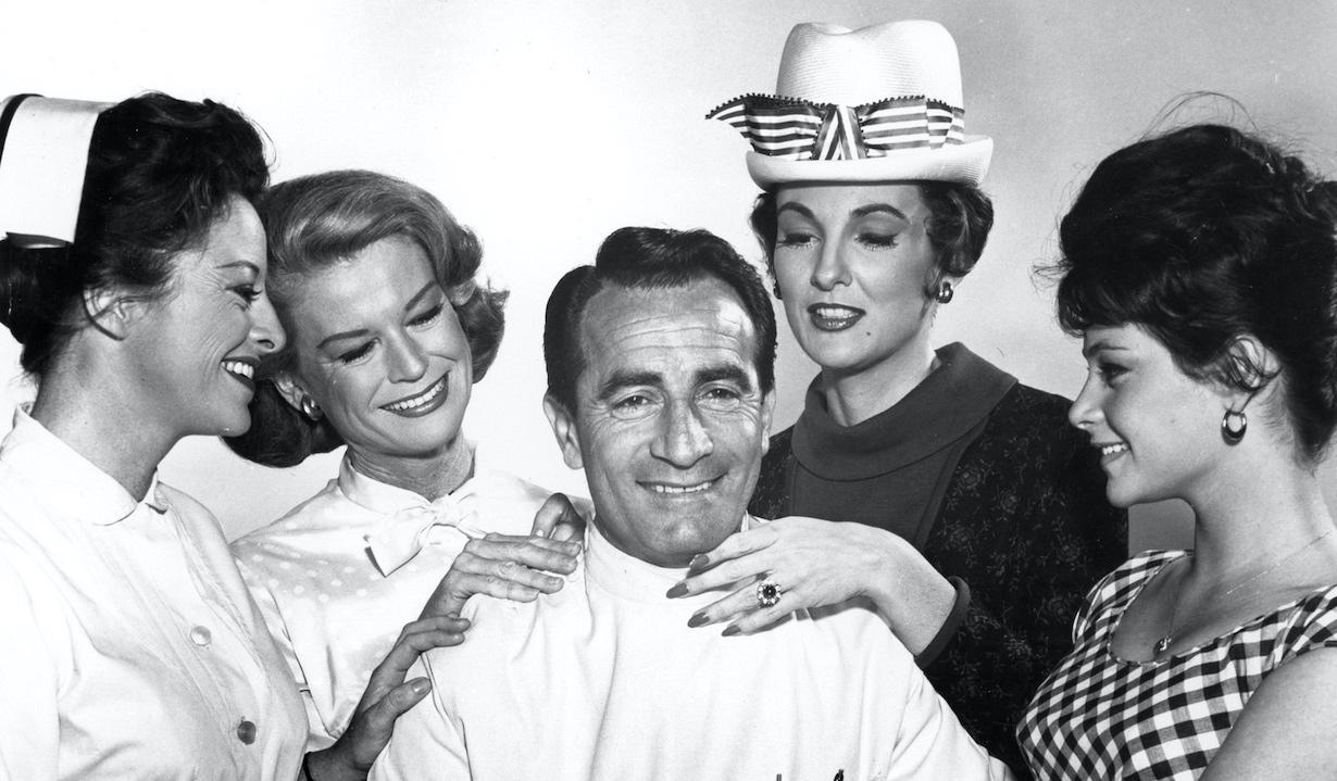 GENERAL HOSPITAL, Emily McLaughlin, K.T. Stevens, John Beradino, Allison Hayes, Jana Taylor, 1963, 1963-