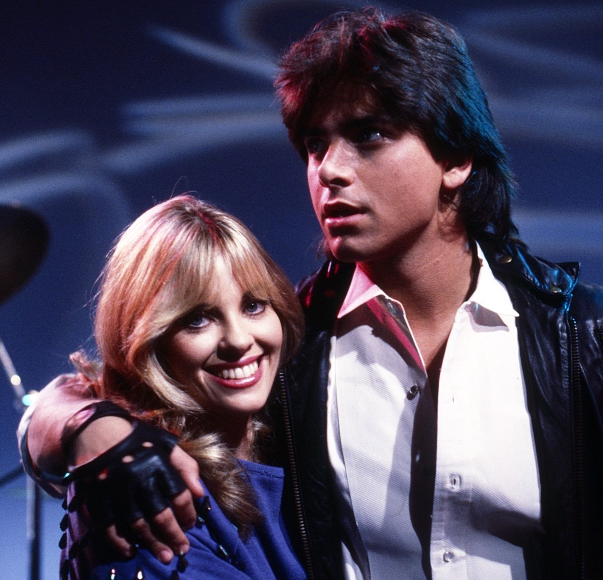 GENERAL HOSPITAL, from left: Elissa Leeds, John Stamos, (1983), 1963- , /©ABC /Courtesy Everett Collection
