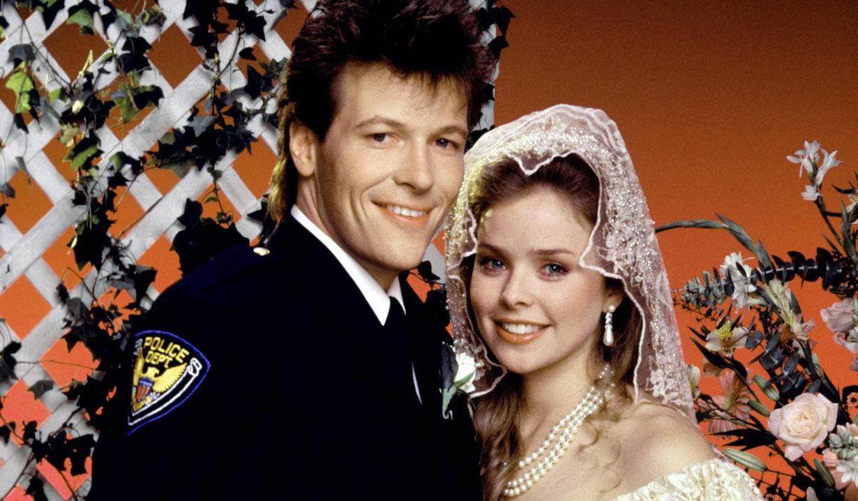 GENERAL HOSPITAL, frisco felicia wedding Jack Wagner, Kristina Malandro, (1986), 1963-, © ABC / Courtesy: Everett Collection
