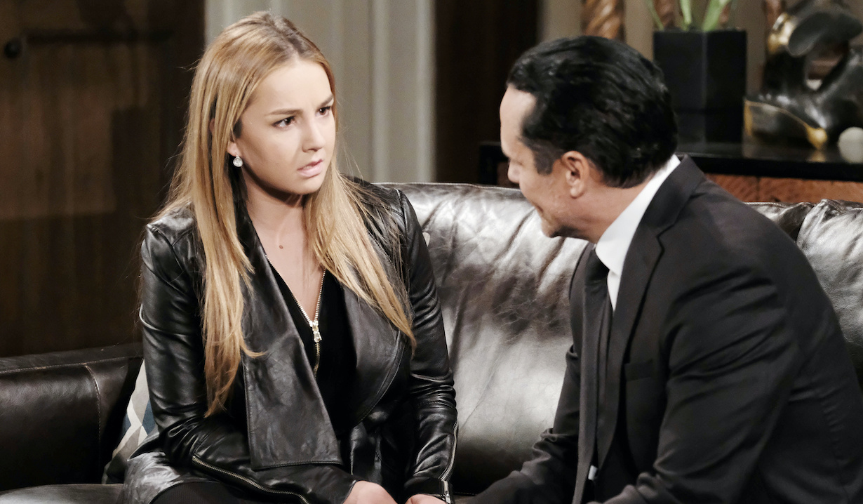 Lexi Ainsworth, Maurice Benard as kristina and sonny general hospital