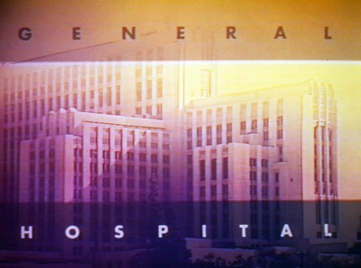 GENERAL HOSPITAL 1993 logo abc ec