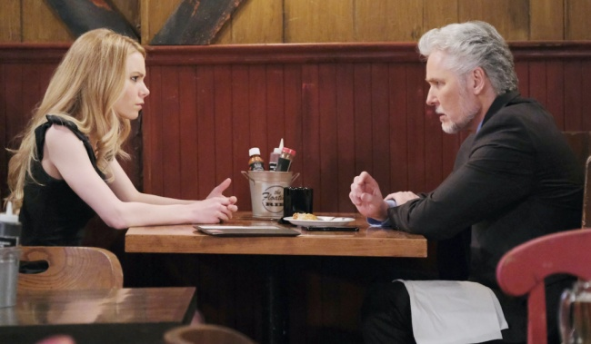 "Michael E Knight, Chloe Lanier ""General Hospital"" hw nelle martin"