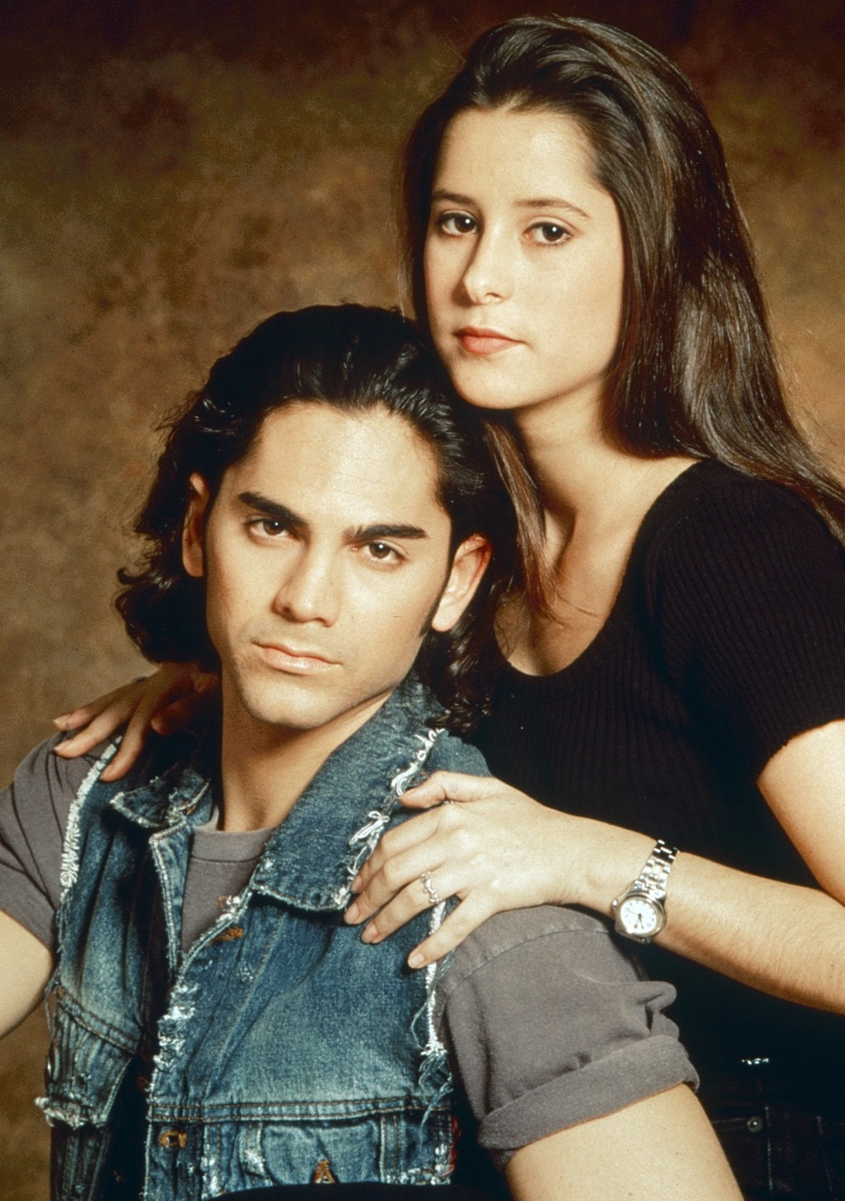 GENERAL HOSPITAL, from left: Michael Sutton, Kimberly McCullough, (1995), 1963- , ph: Craig Sjodin/©ABC /Courtesy Everett Collection