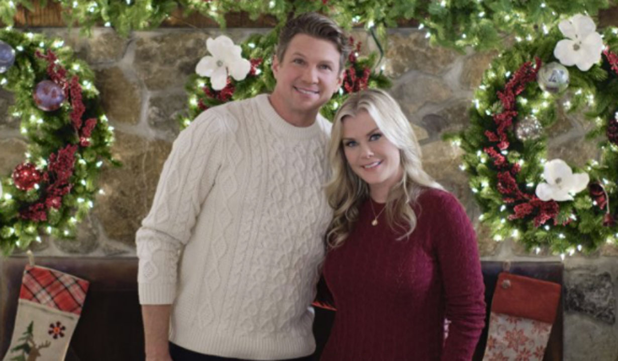 Alison Sweeney Good Morning Christmas Hallmark