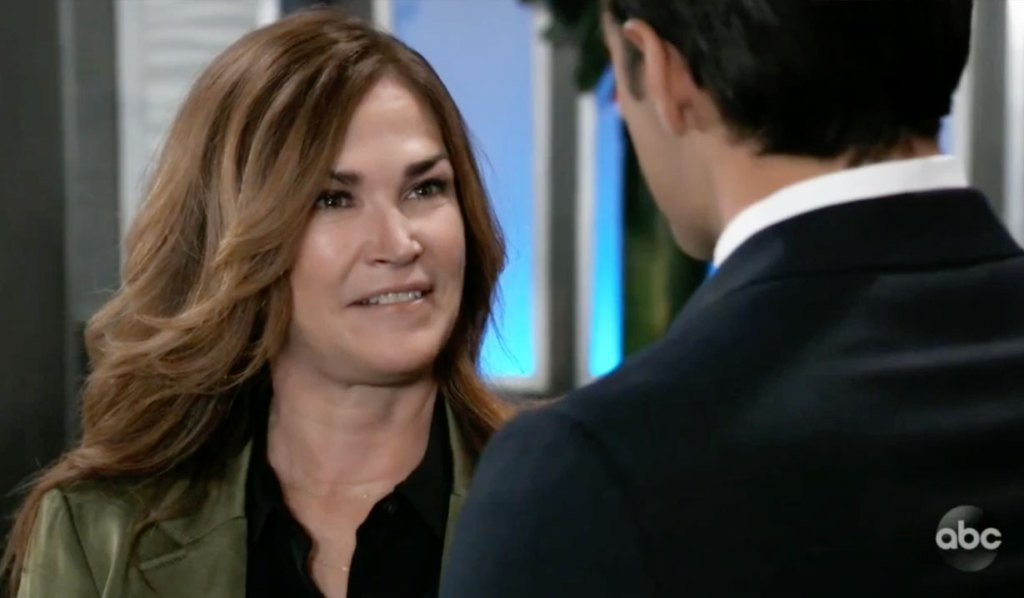 Jackie is Chases mom on GH