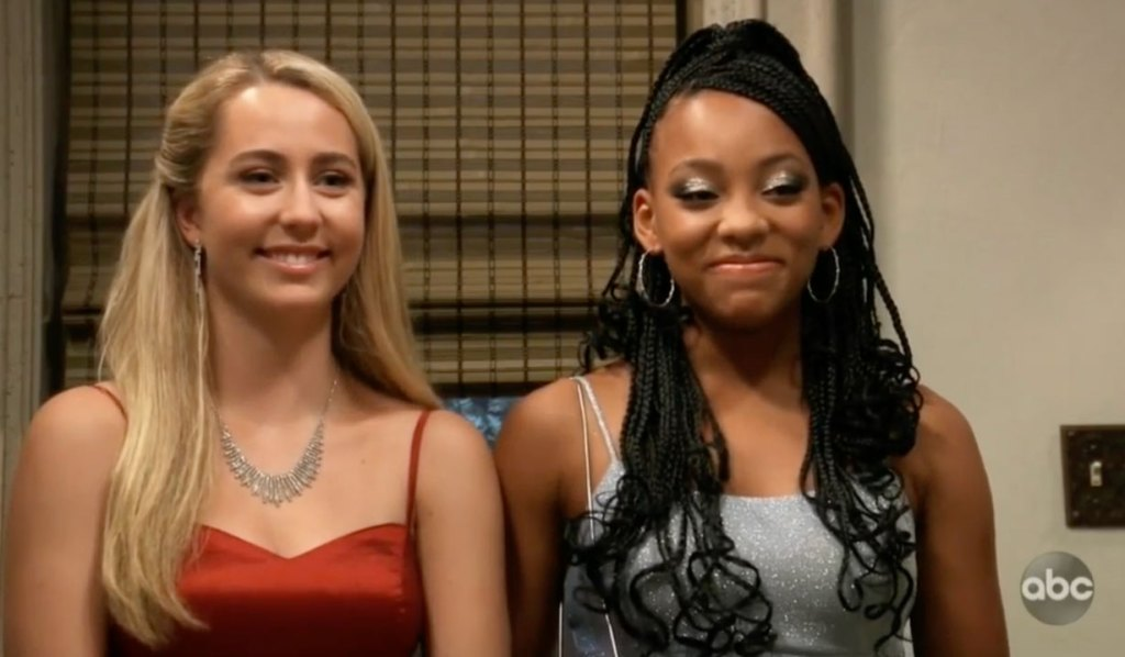 Joss and Trina go to the dance on GH