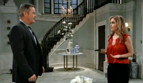 Ned accuses Olivia of cheating on GH