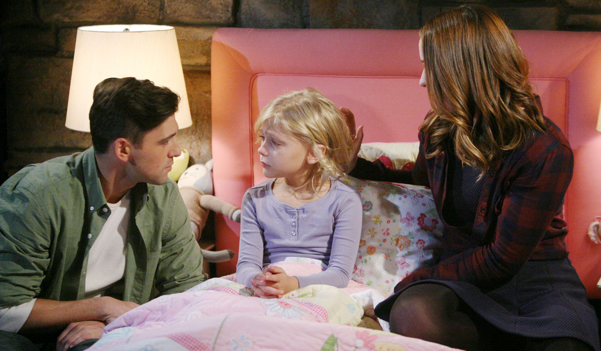 noah, faith and mariah siblings Y&R