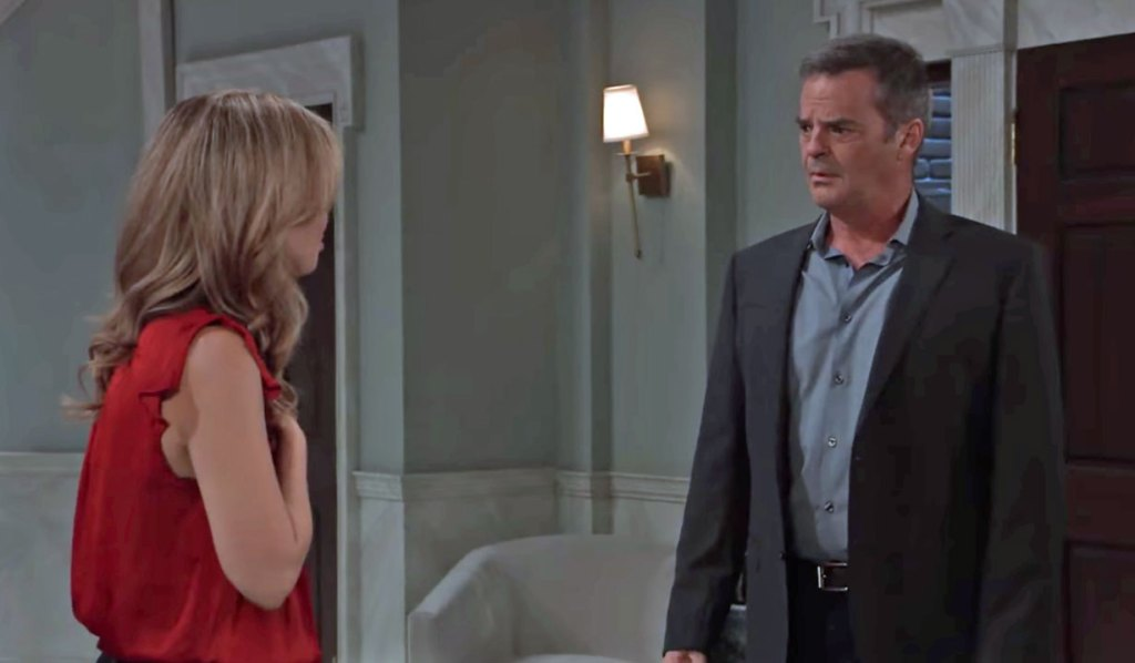 Olivia is stunned by Ned's accusation on GH