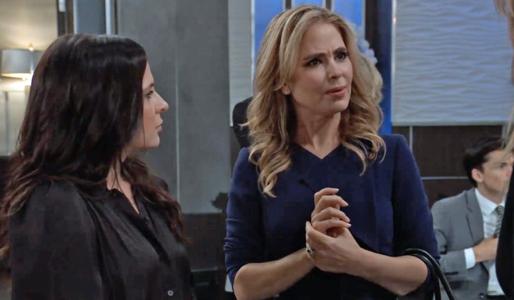Alexis shocked Olivia is home on GH