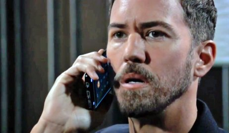 Peter gets a call from Helena on GH