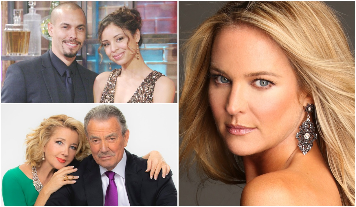 Young Restless Fall Preview collage