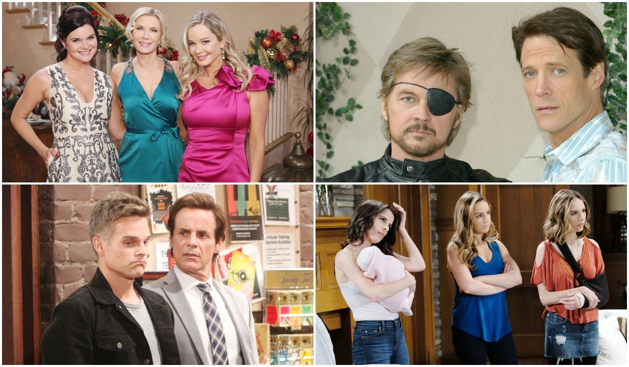 soap opera siblings bb, days, gh, yr