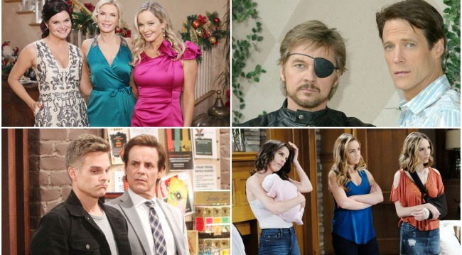 soap opera siblings bb, days, gh, yr