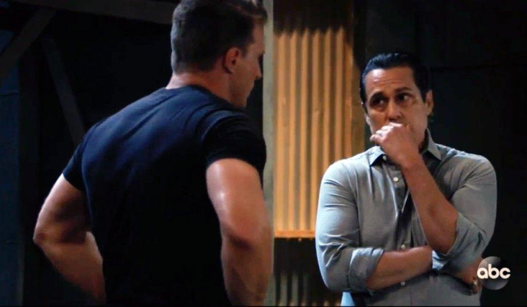 Jason and Sonny plot against Cyrus on GH