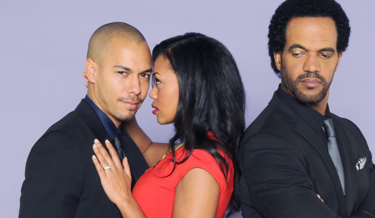 Bryton James, Mishael Morgan, Kristoff St John yr neil devon hilary