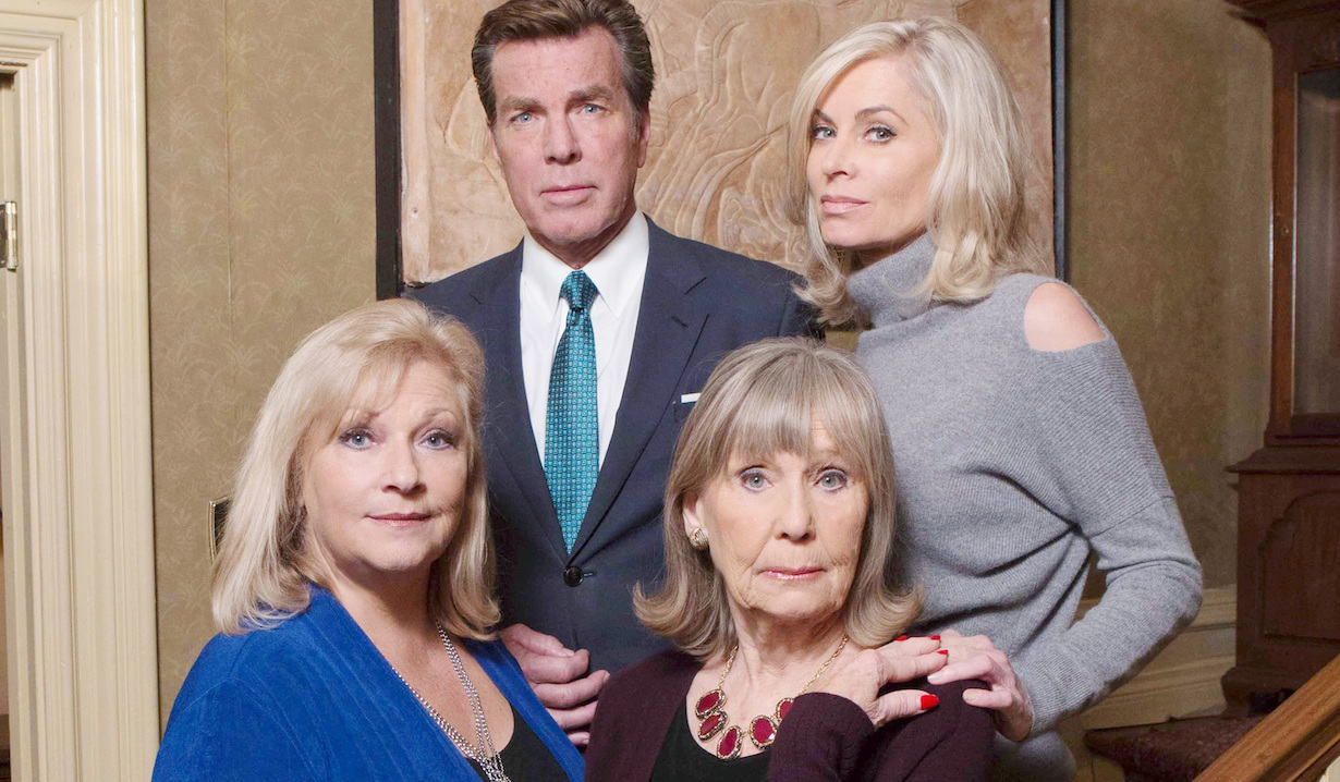 Peter Bergman, Eileen Davidson, Beth Maitland, Marla Adams young restless jack traci dina ashley gallery hw