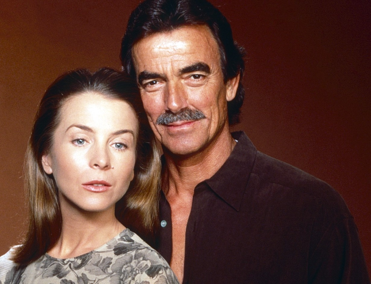 THE YOUNG AND THE RESTLESS, from left: Signy Coleman, Eric Braeden, victor hope gallery cbs ec