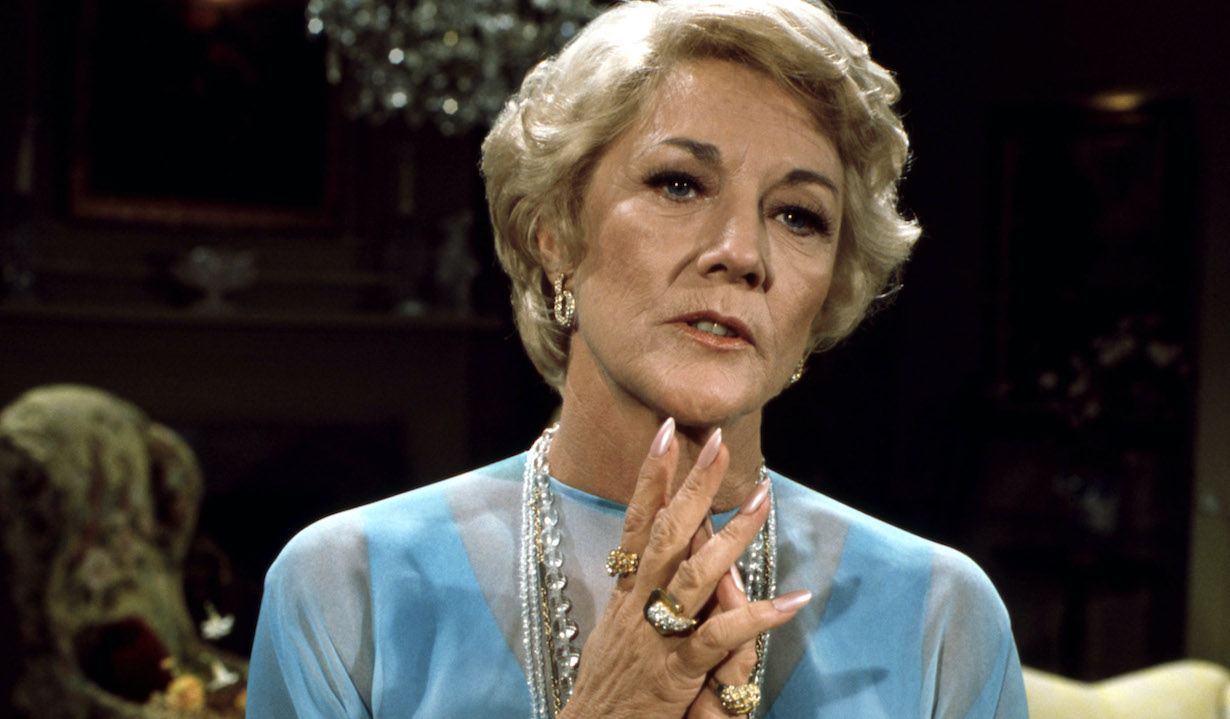 THE YOUNG AND THE RESTLESS, Jeanne Cooper, katherine cbs ec