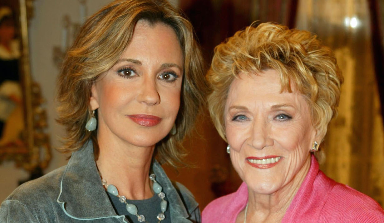 "Jeanne Cooper and Jess Walton ""Young and Restless"" jill katherine jg"