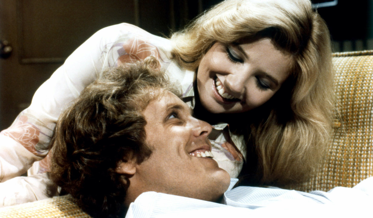 THE YOUNG AND THE RESTLESS, from left: Wings Hauser, Melody Thomas Scott, nikki 1973