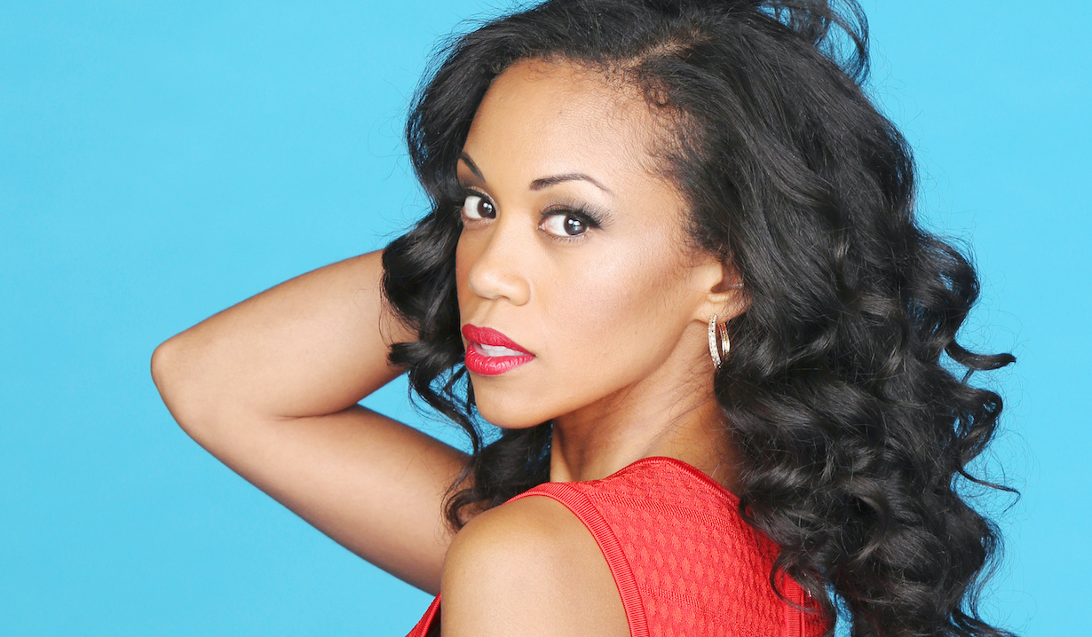 "Mishael Morgan ""The Young and the Restless"" amanda hw"