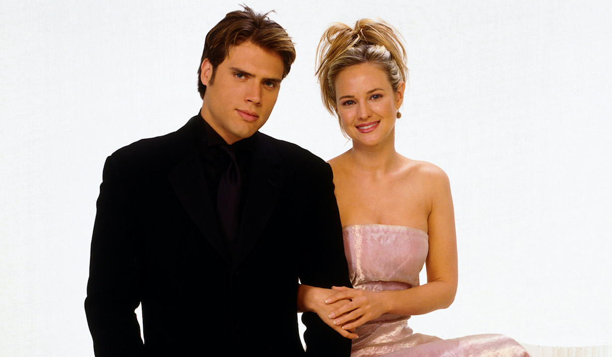 yr joshua morrow sharon case nick sharon gallery 1990s CBS/Courtesy of the Everett Collection