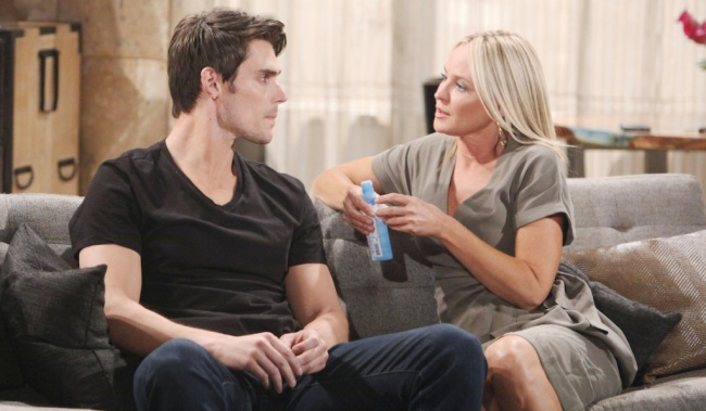 """Mark Grossman, Sharon Case """"The Young and the Restless"""" adam sharon"""