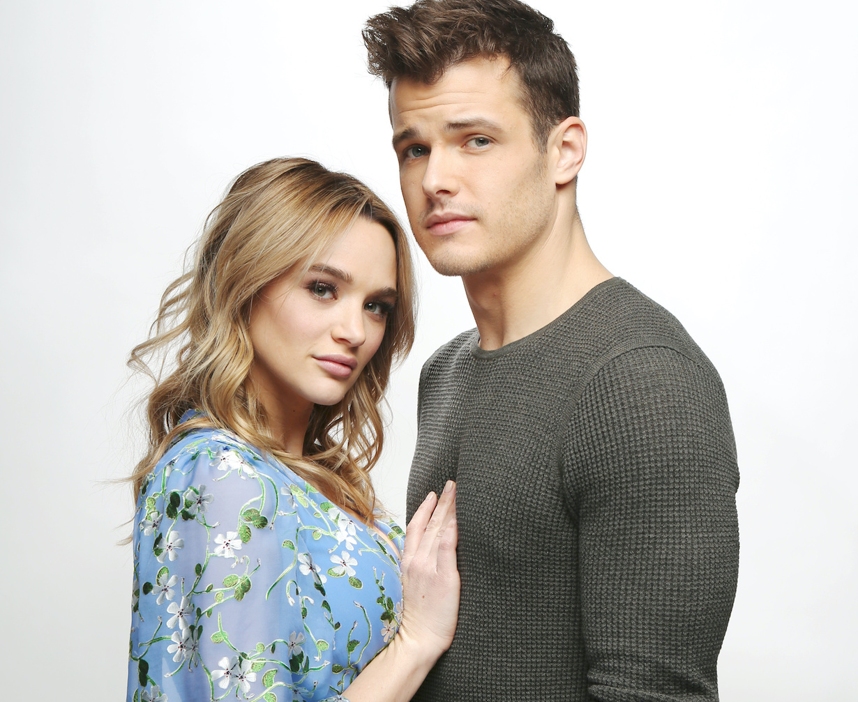 "Michael Mealor, Hunter King ""The Young and the Restless"" summer kyle hw gallery"