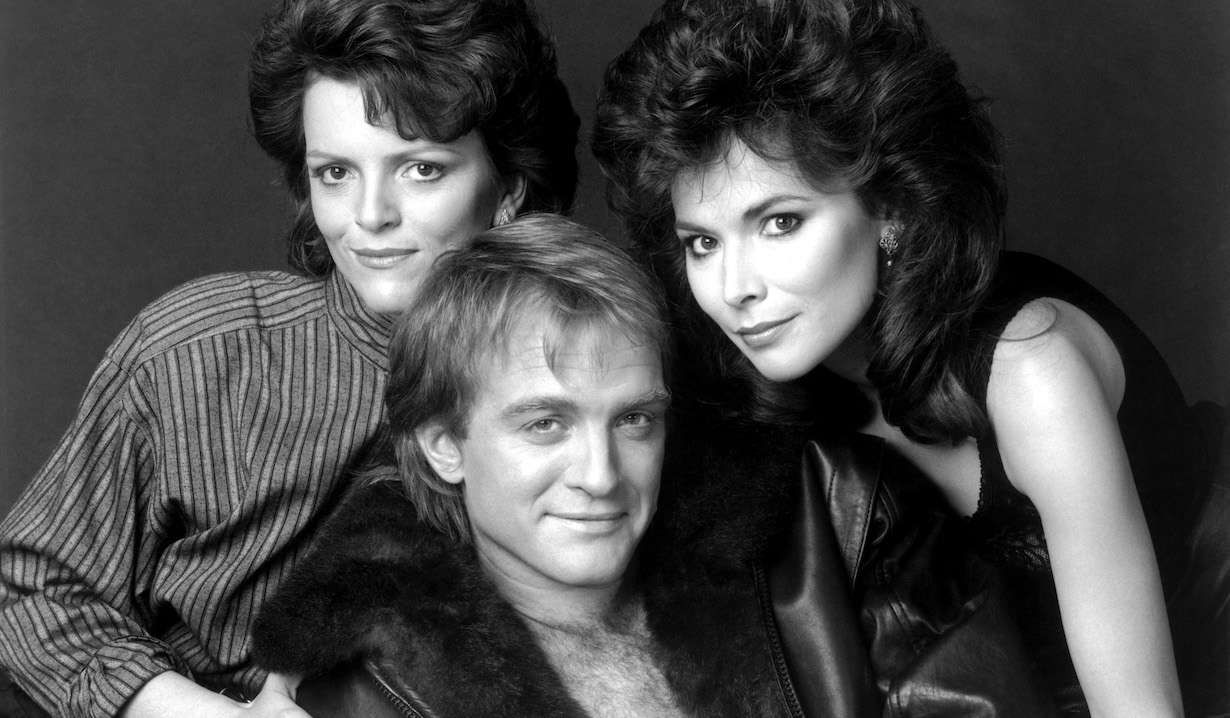 THE YOUNG AND THE RESTLESS, from left: Chris Templeton, Terry Lester, Lauren Koslow, CBS/Courtesy of the Everett Collection
