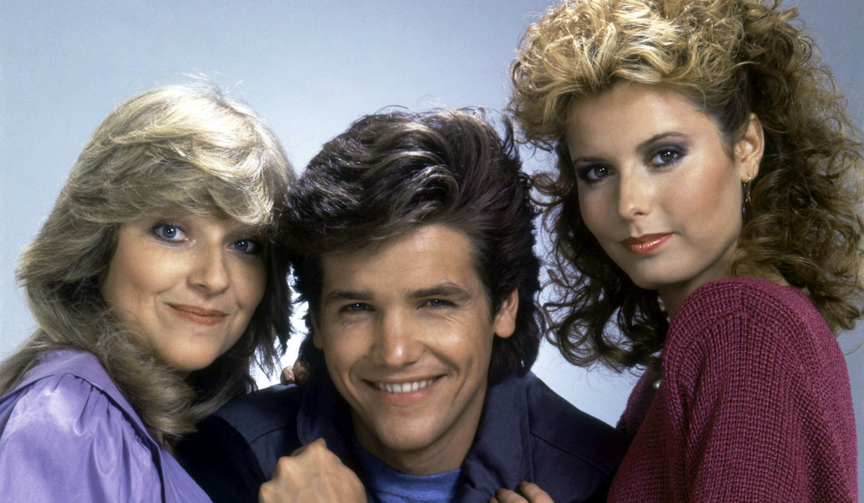 THE YOUNG AND THE RESTLESS, Beth Maitland, Michael Damian, Tracey E. Bregman cbs ec traci danny lauren