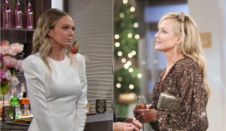 Abby and Sharon's dresses Young and Restless
