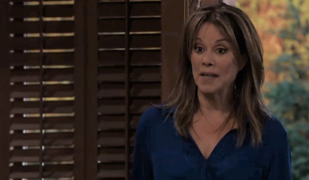 Alexis isn't happy to see Ned at her place General Hospital