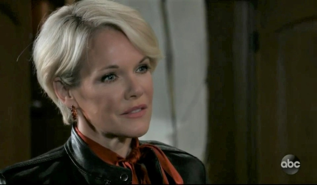 Sonny question Ava about Ryan at Corinthos compound General Hospital