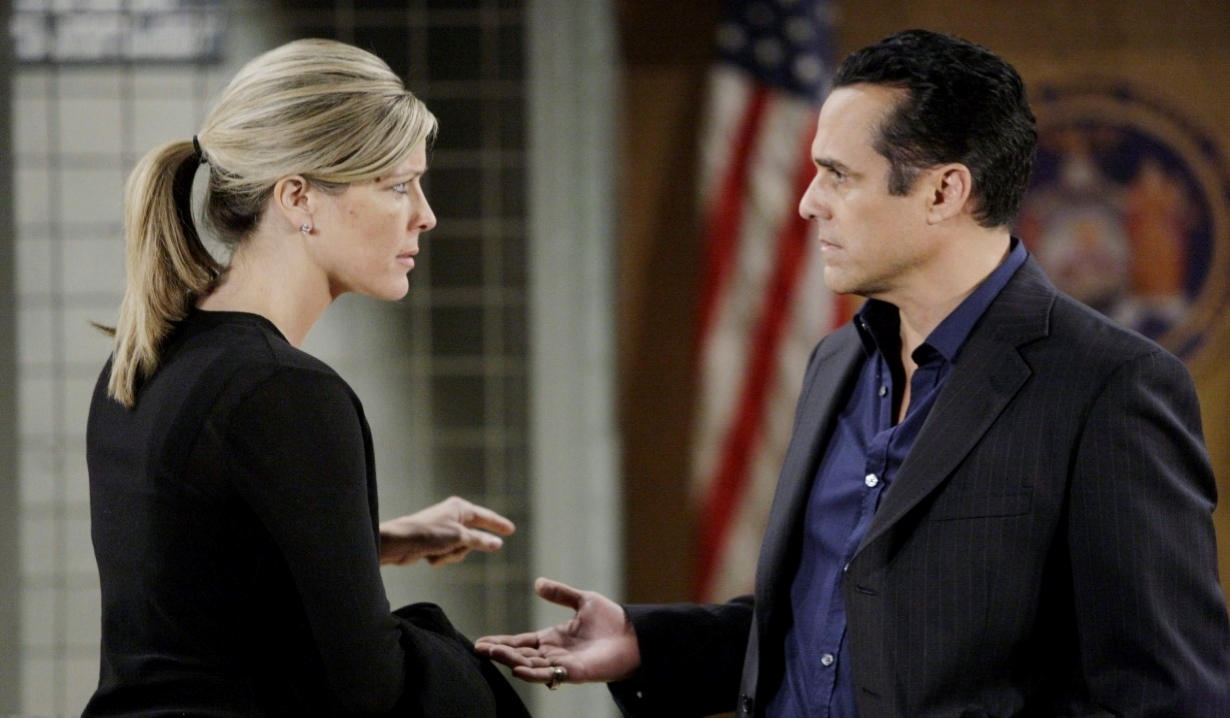 General Hospital's Carly Benson and Sonny Corinthos