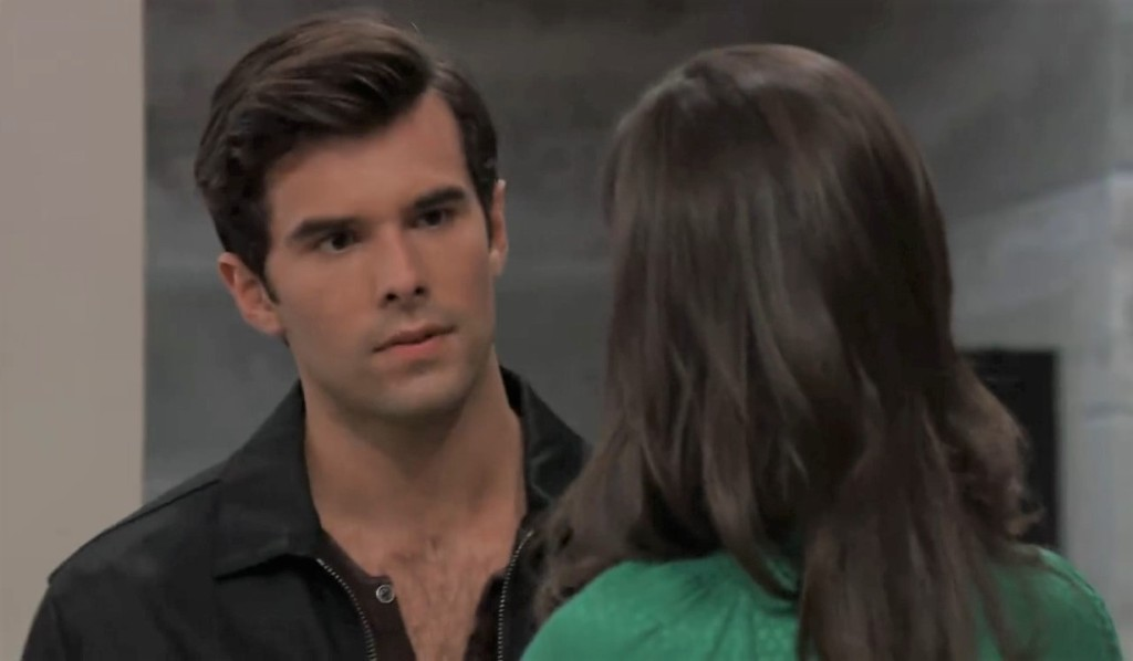 Chase and Brook Lynn discuss Willow at General Hospital
