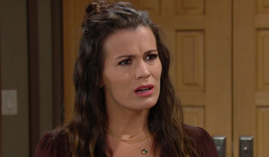 Chelsea questions Y&R