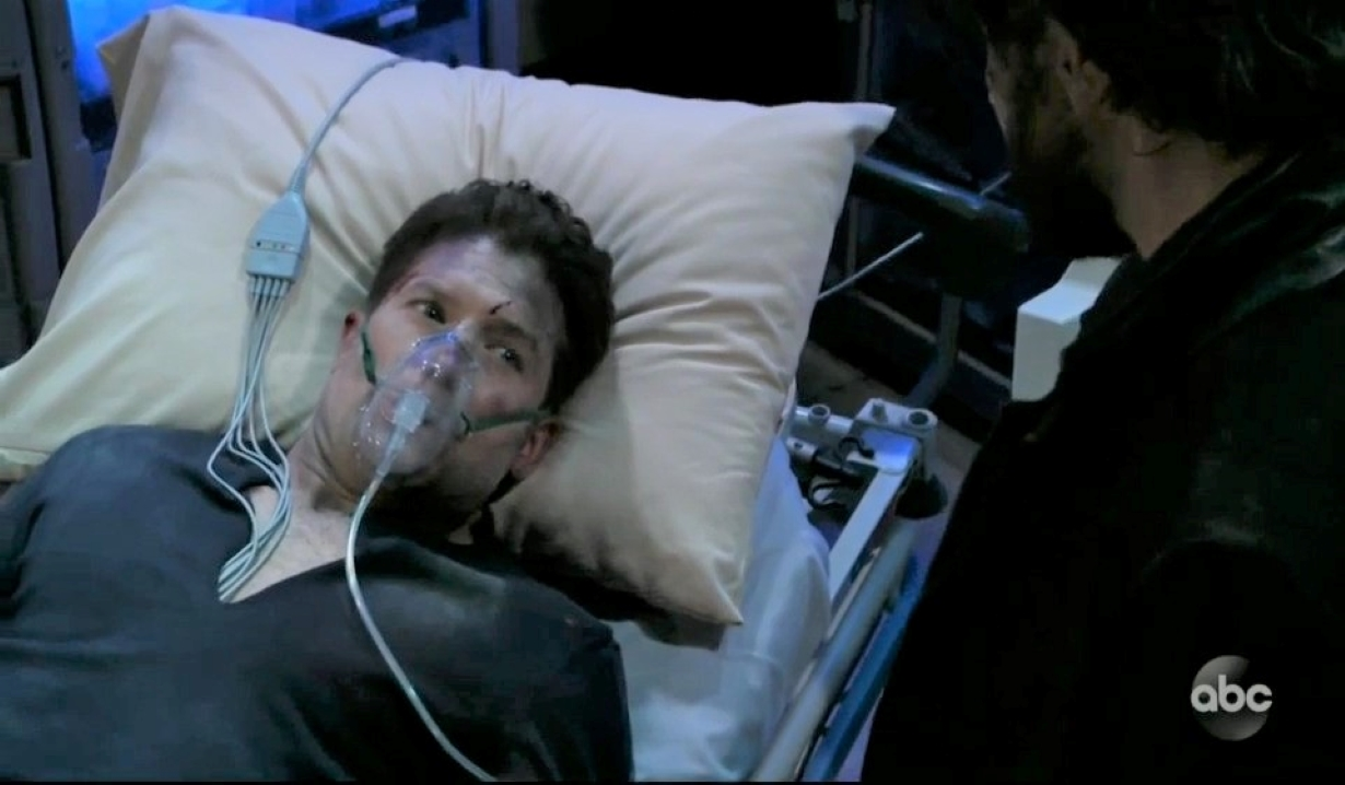 Dustin dies in front of Dante at General Hospital