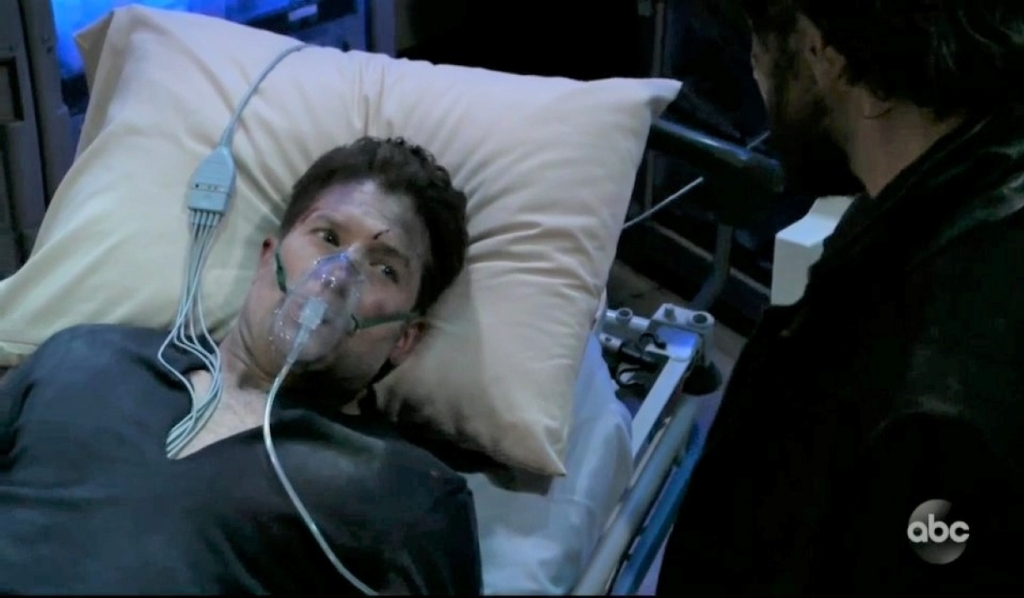 Dustin dies in front of Dante at General Hospital