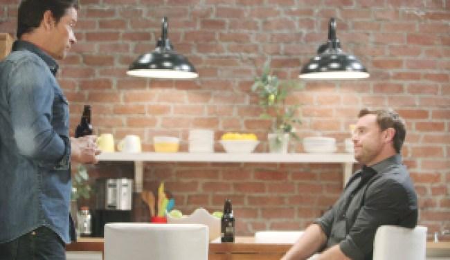"Billy Miller, Roger Howarth""General Hospital"" Set The Prospect Studios ABC Studios 08/20/18 © XJJohnson/jpistudios.com 310-657-9661 Episode # 14144 U.S. Airdate 09/21/18"