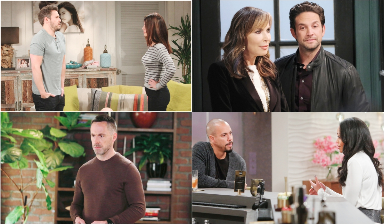 11-9-20 spoilers for bold and beautiful days of our lives general hospital young and restless