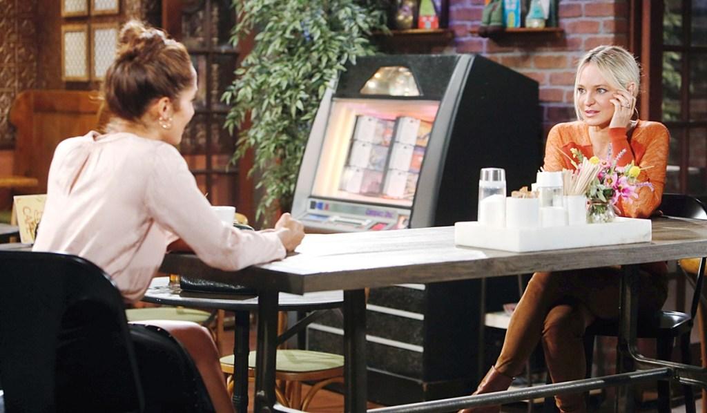 Lily, Sharon talk Y&R