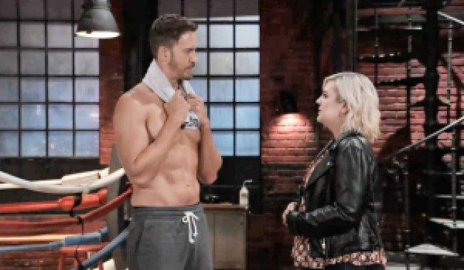 maxie asks peter why he's worries gh