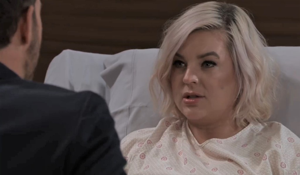 Maxie asks Peter about Alex in General Hospital