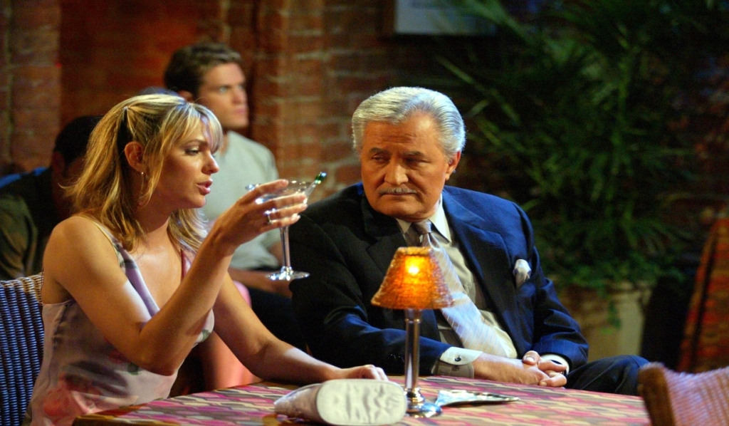 Nicole Walker and Victor Kiriakis on Days of Our Lives
