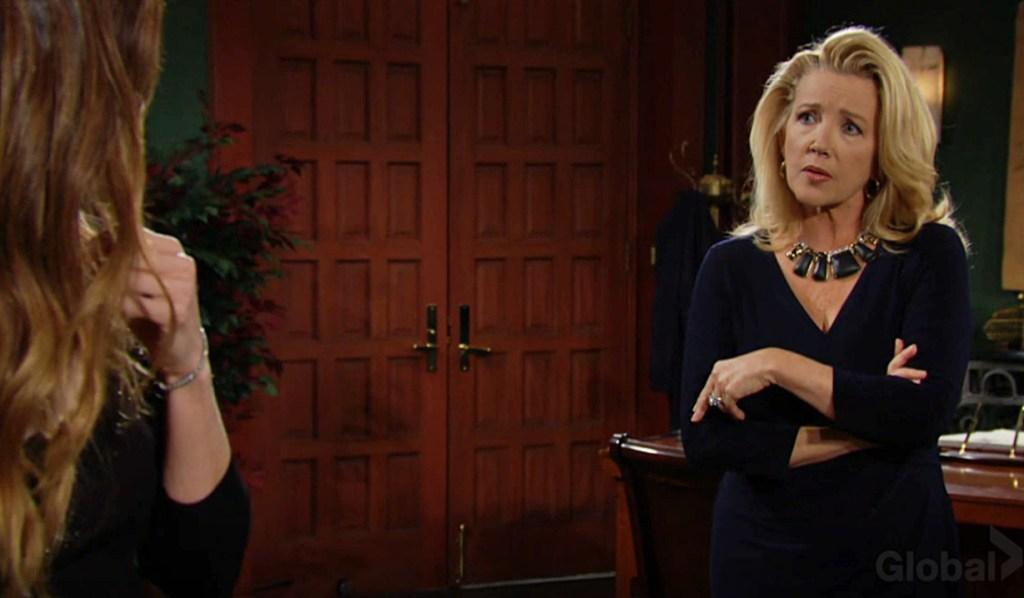 Nikki confront Victoria Y&R