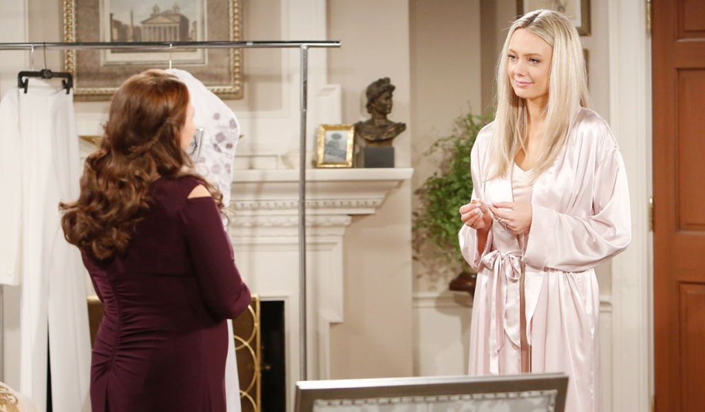 Nina, Abby before wedding Y&R