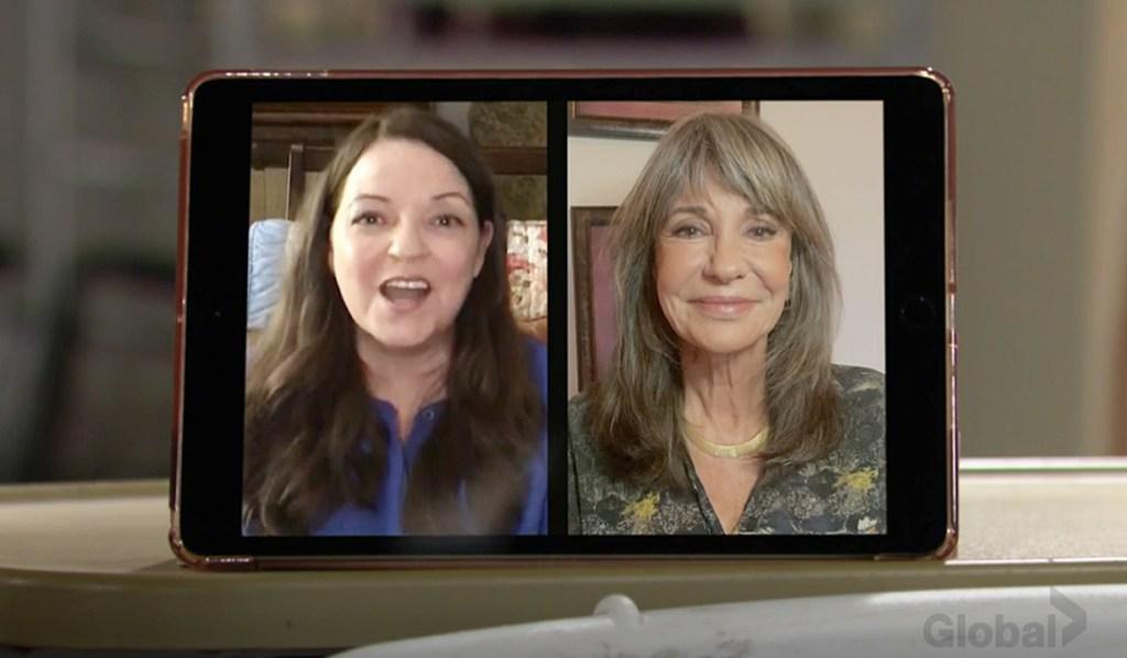 Nina, Jill video Y&R