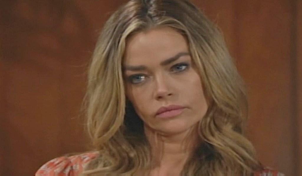 Shauna glares at Quinn B&B
